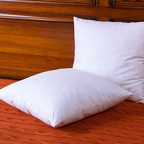 DOWNIGHT Cotton Pillow Inserts, Decorative Pillow Insert