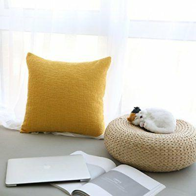 Kevin Textile Solid Pillow Cover ...