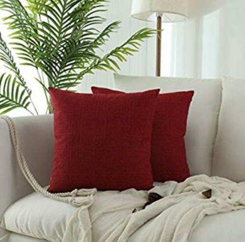 """LOT Kevin Textile Pillow Case Cushion Cover, 18x18"""" NEW"""