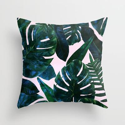 New SOCIETY6 Perceptive Dream tropical Pattern THROW PILLOW
