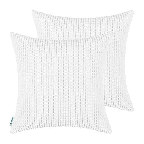 Pack of 2, CaliTime Throw Pillow Covers Cases for Couch Sofa