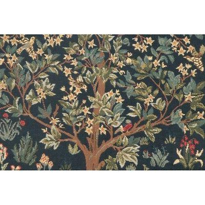 Tree Throw Cover 18x18 William Morris Woven