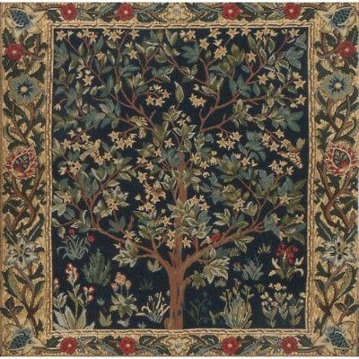 Tree of Tapestry Throw William Morris Woven