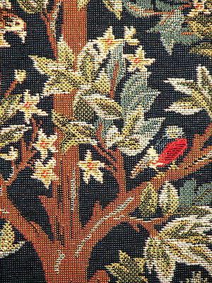 Tree of Tapestry Throw Pillow Cover 18x18 William Morris