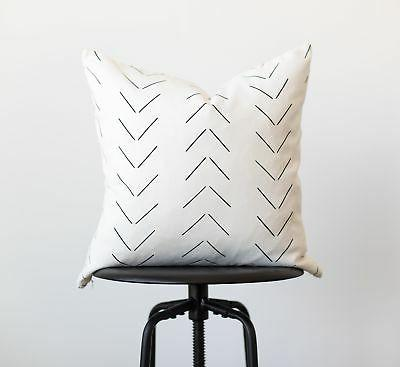 Woven Pillow COVERS For Couch, Set