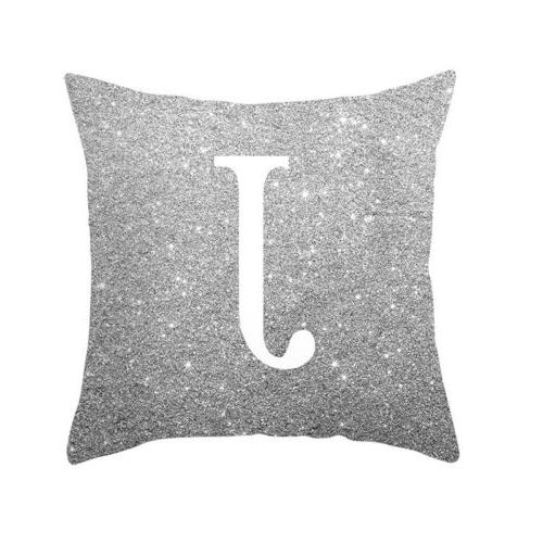 A-Z Letter Case Throw Home Sofa