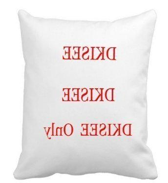 Square Throw Pillow Canvas Case Couch