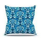 "Kess InHouse Aimee St. Hill ""Intertwine Blue"" Outdoor Throw"