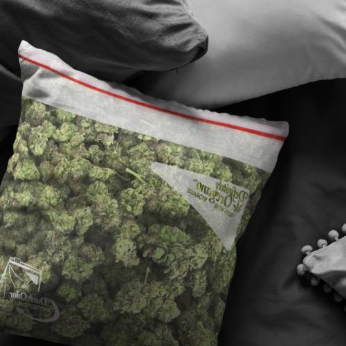 Bag Weed Pillow / Funny Gift