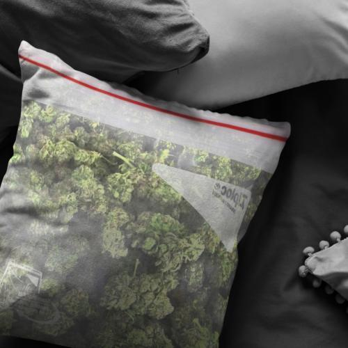 Bag Pillow / Pillowcase - Funny Stoner Gifts