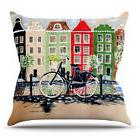 East Urban Home Bicycle by Christen Treat Outdoor Throw Pill