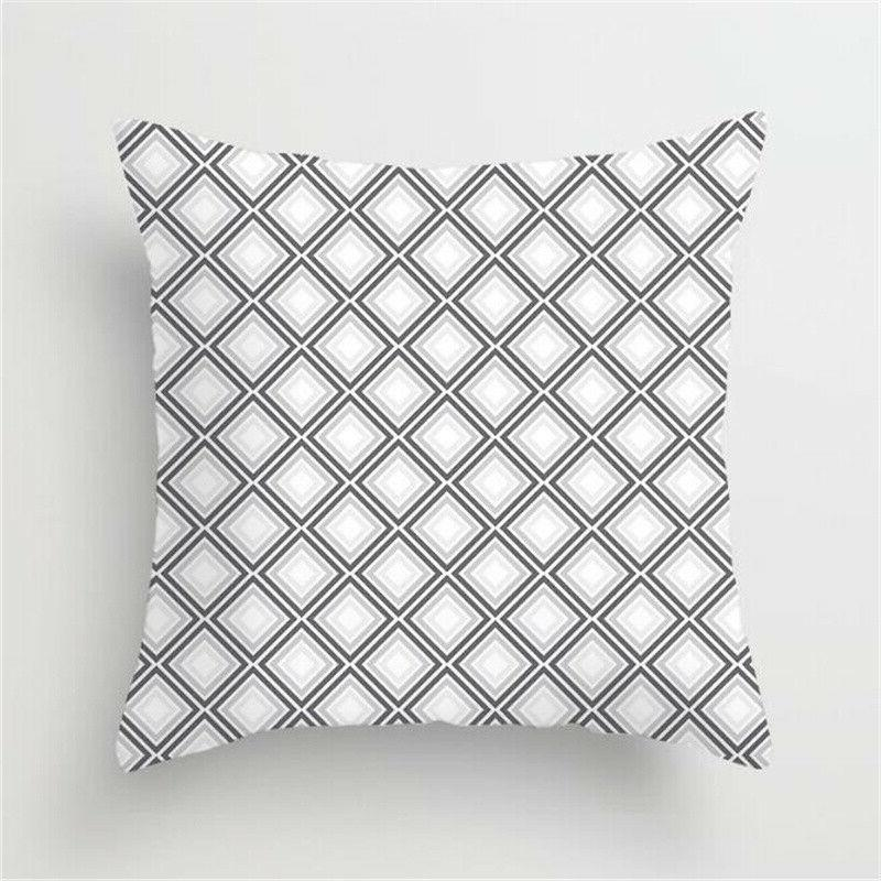 Bedroom Home Decoration Cover Case Waist Geometric