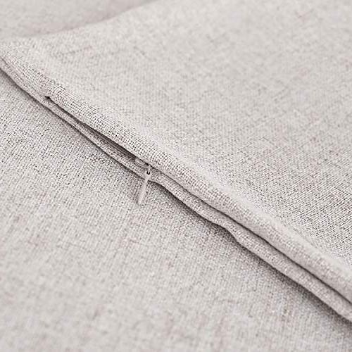 Deconovo Throw Linen Look for 18 x of 4 Insert
