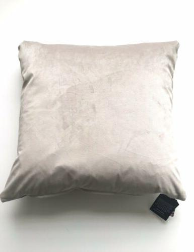 HARRIS TWEED MARK CUSHION THROW PILLOW DOWN 20x20 NWT!