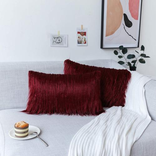 Kevin Textile Home Deluxe Merino Faux Fur Throw
