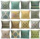 Cotton Linen Retro Various Waist Throw Pillow Case Sofa Cush