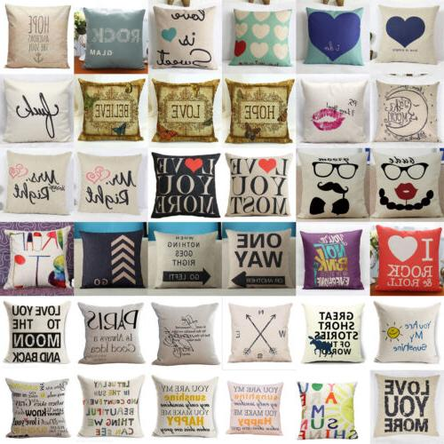 Cotton Square Home Decorative Sofa Cushion