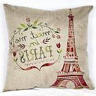 Cotton Linen Throw Pillow Case Cushion Cover Home Sofa Decor