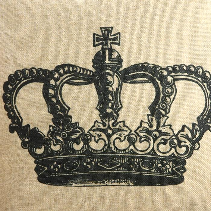 Crown <font><b>Down</b></font> Carry On Sofa Cushion Home Wedding Decor Seat