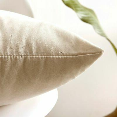 Kevin Throw Pillow Faux Suede Both New