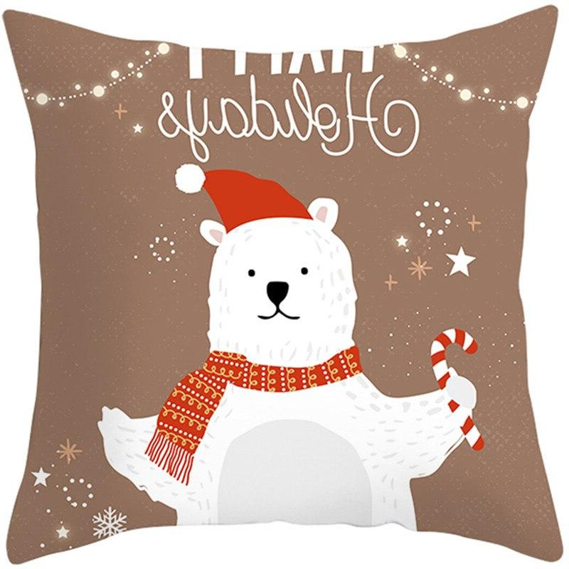 Fuwatacchi Pattern Cushion Cover Style <font><b>Pillow</b></font> Sofa Pillowcase