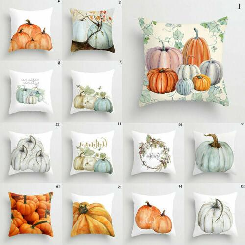 Cute Halloween Pillow Case Throw Cushion Decor