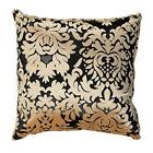Cortesi Home Dama Decorative Damask Square Accent Pillow, Go