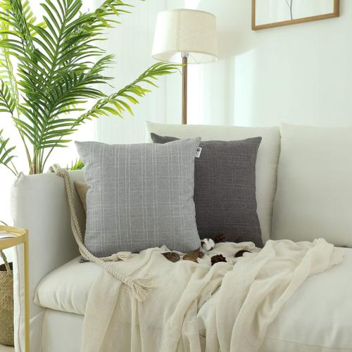 Kevin Durable Cotton Linen Care Throw