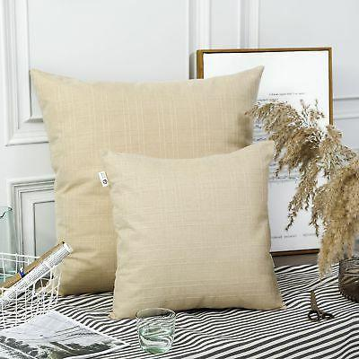 Kevin Style Linen Checkered Pillow Cases Cushion