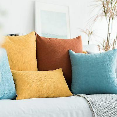 Kevin Decor Solid Toss Throw Pillow
