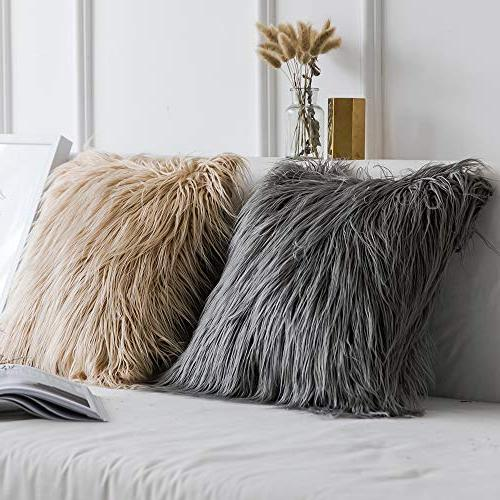 Decorative Luxury Style Fur Throw Cover Sofa Bedroom Car x Inch cm