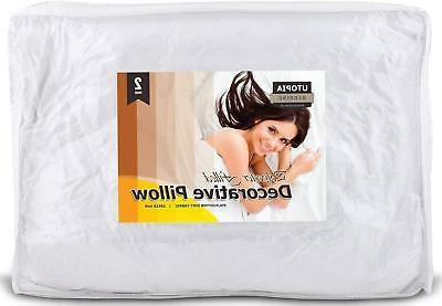 Decorative Pillow Insert Pack Bed by