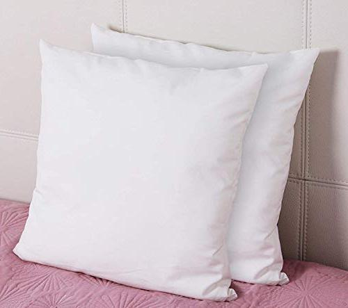 Utopia Bedding Decorative Inserts Square Pillow 18 Inches - Indoor Pillows