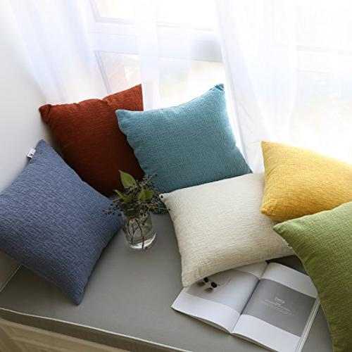 Kevin Velvet Striped Throw Pillow Cushion for Couch, 18 x 18 2