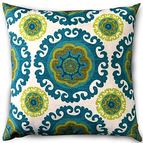 decorative square throw pillows floral