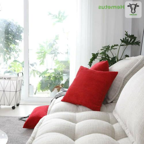 """HOME Decorative Pillow 18"""" Q-red"""