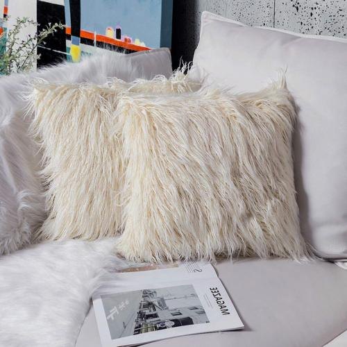 Ojia Home Decorative Super Plush Faux Fur 18