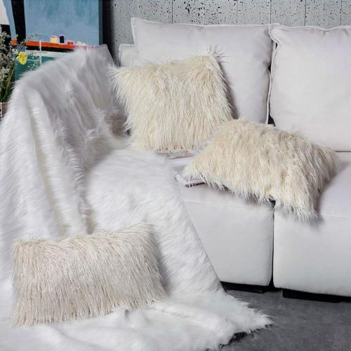 Ojia Super Plush Faux Throw 18