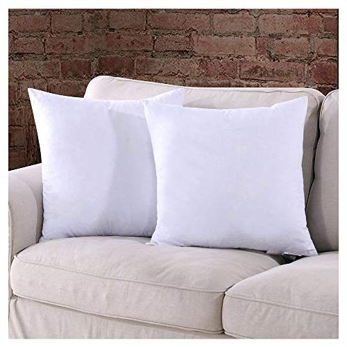 Homelike Pillow Throw Pillow of 2 Fabric