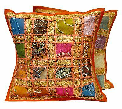 embroidered indian decorative toss throw