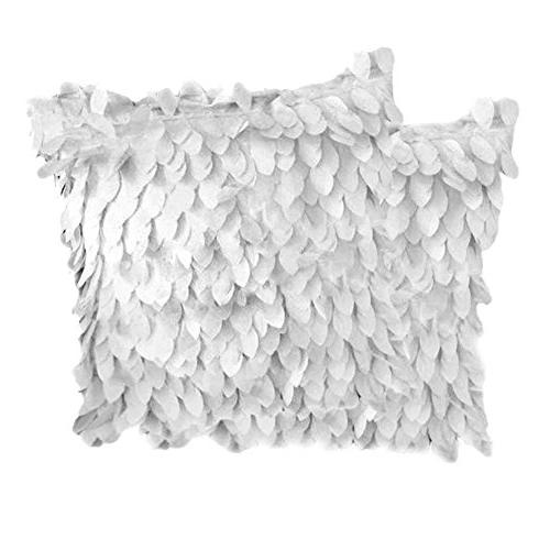 fallen leaves feather couch cushion