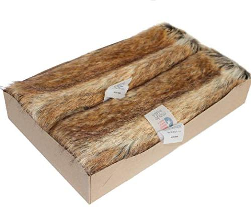 Faux Fur Cover Canadian Fox Honey X in - Set of