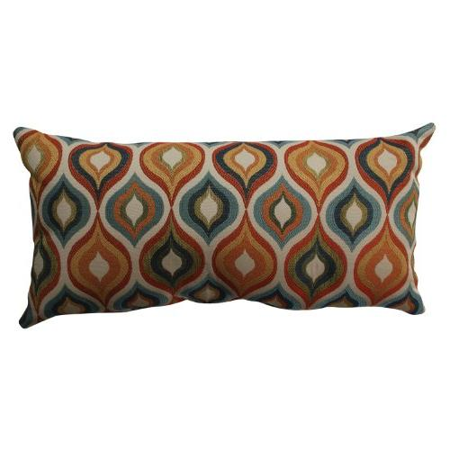 Pillow Perfect Flicker Jewel Bolster Throw Pillow