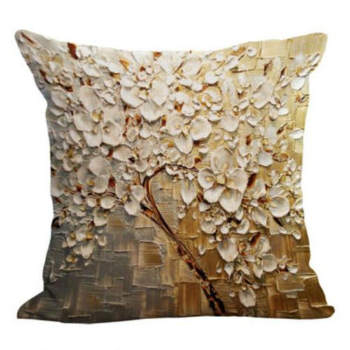 Floral Cover Home Decor