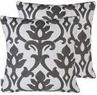 Pack of 2 Floral Throw Pillow Cases Cushion Covers for 18X18