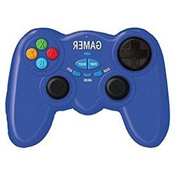 iscream Gamer Video Game Control Shaped Microbead Pillow