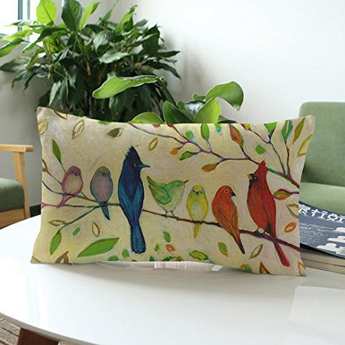 ®GBSELL Pillow Fresh Flower Sofa Throw Cushion Cover Party Home
