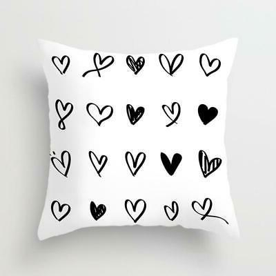 Geometric Cushion and White Pillow Case Dott