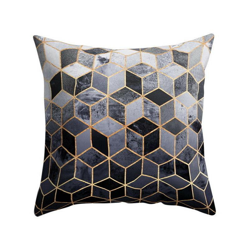 Geometric Pillow Cushion Cover Home