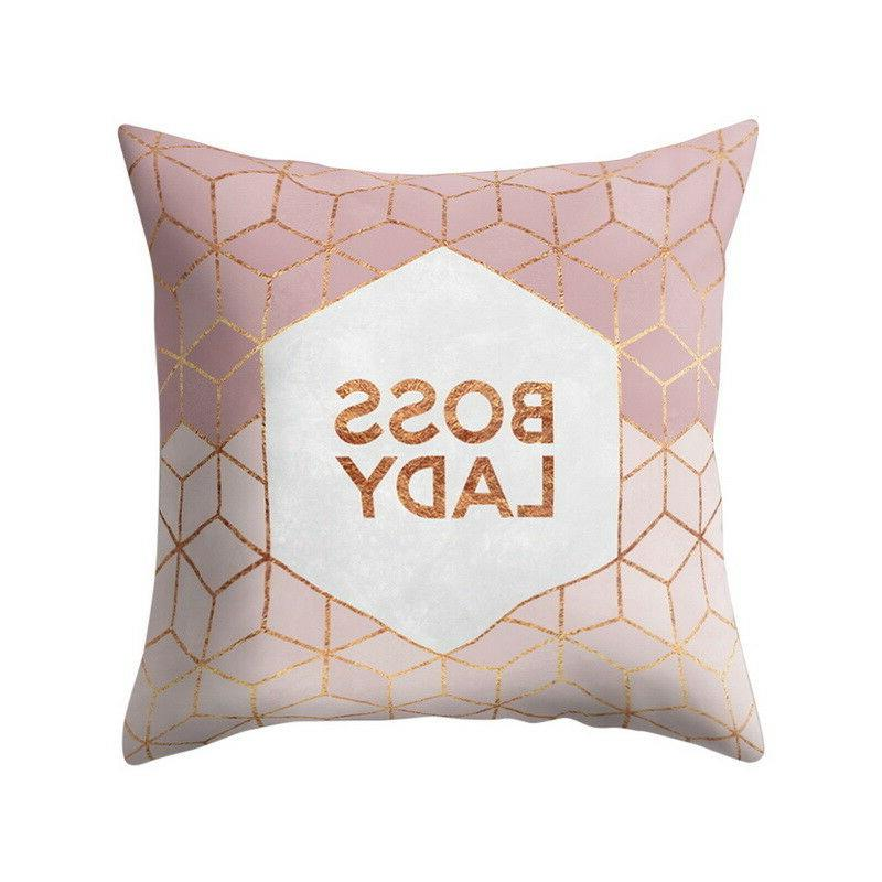 Geometric Pillow Sofa Cover Home